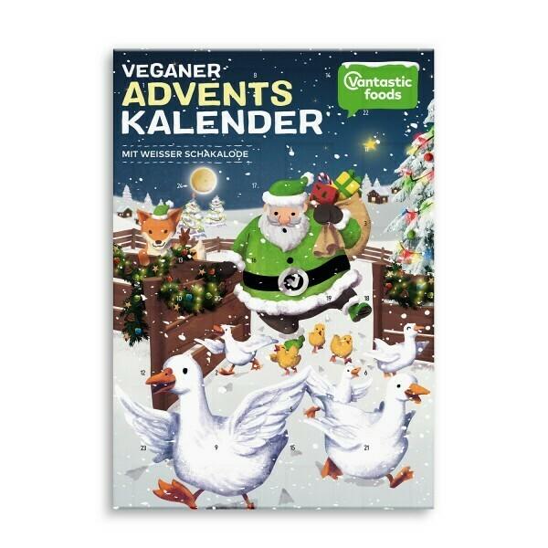 Vegan Advent Calendar - White Chocolate :)