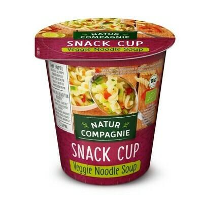 VEGGIE NOODLE INSTANT SOUP, organic, 50g (255ml)