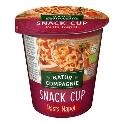 SNACK CUP Pasta Napoli, organic, 59g (255ml)