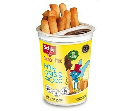 Sweet Vegan Breadsticks with Coco Creme (separate compartment). Gluten free :)