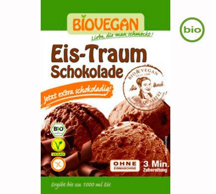 Vegan Ice Cream powder, Organic, Chocolate, use your own plant milk and cream