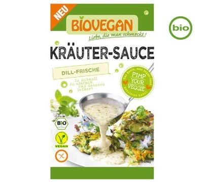 Biovegan Organic HERB SAUCE, 23g