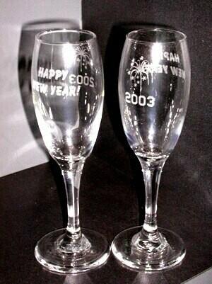 Glass - Champagne Tall Flute 6 oz