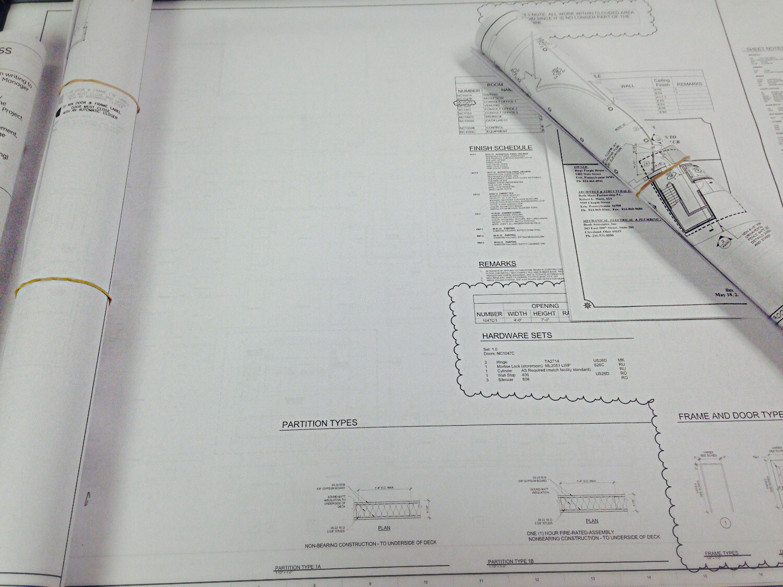 """11"""" x 17"""" Blueprints"""