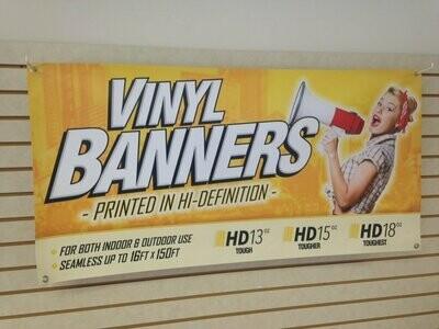 Custom Full Color Vinyl Banner
