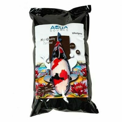Aqua Source 3 Kg Wheatgerm . 4 - 5mm Pellet.