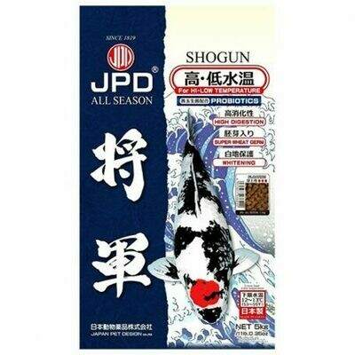 JPD Shogun All Season Koi Food 5Kg