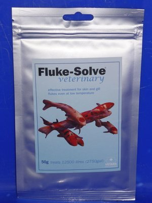 Vetark          Fluke Solve 50G . Skin & Gill Fluke Treatment