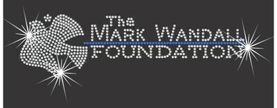 The Mark Wandall Foundation Rhinestone Decal
