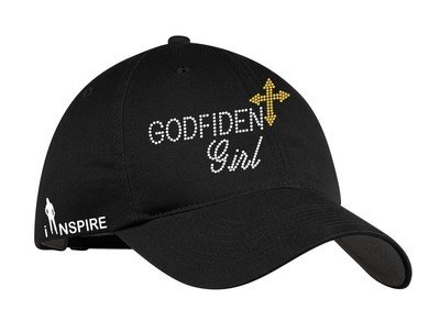 Godfident Girl Rhinestone Hat