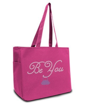 Be You Rhinestone Tote