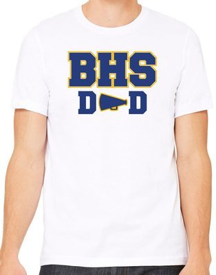Cheer Dad 1 Vinyl Shirt