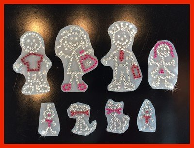 Rhinestone Family Decal Pack