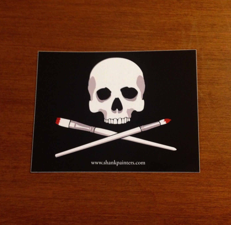 Shank Painters Sticker