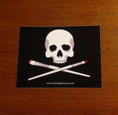 Shank Painters Sticker