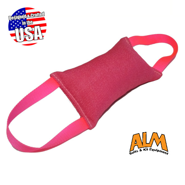 """8"""" x 4"""" Pink Tug with 2 Pink Handles"""