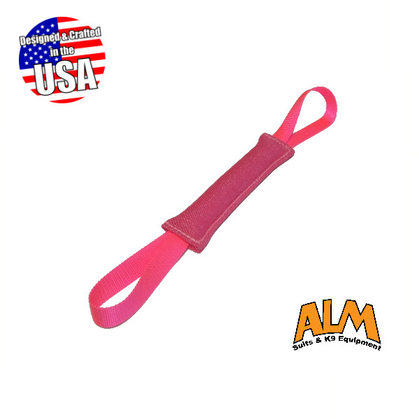 """8"""" x 1.5"""" Pink Tug with 2 Pink Handles"""