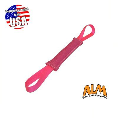 """10"""" x 1.5"""" Pink Tug with 2 Pink Handles"""