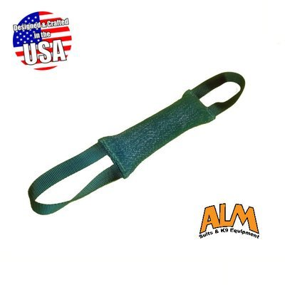 """10"""" x 2.5"""" Green Tug with 2 Green Handles"""