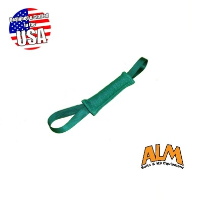 """8"""" x 1.5"""" Green Tug with 2 Green Handles"""