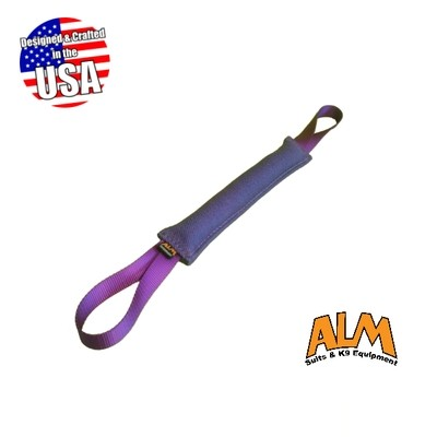 "8"" x 1.5"" Purple Tug with 2 Purple Handles"