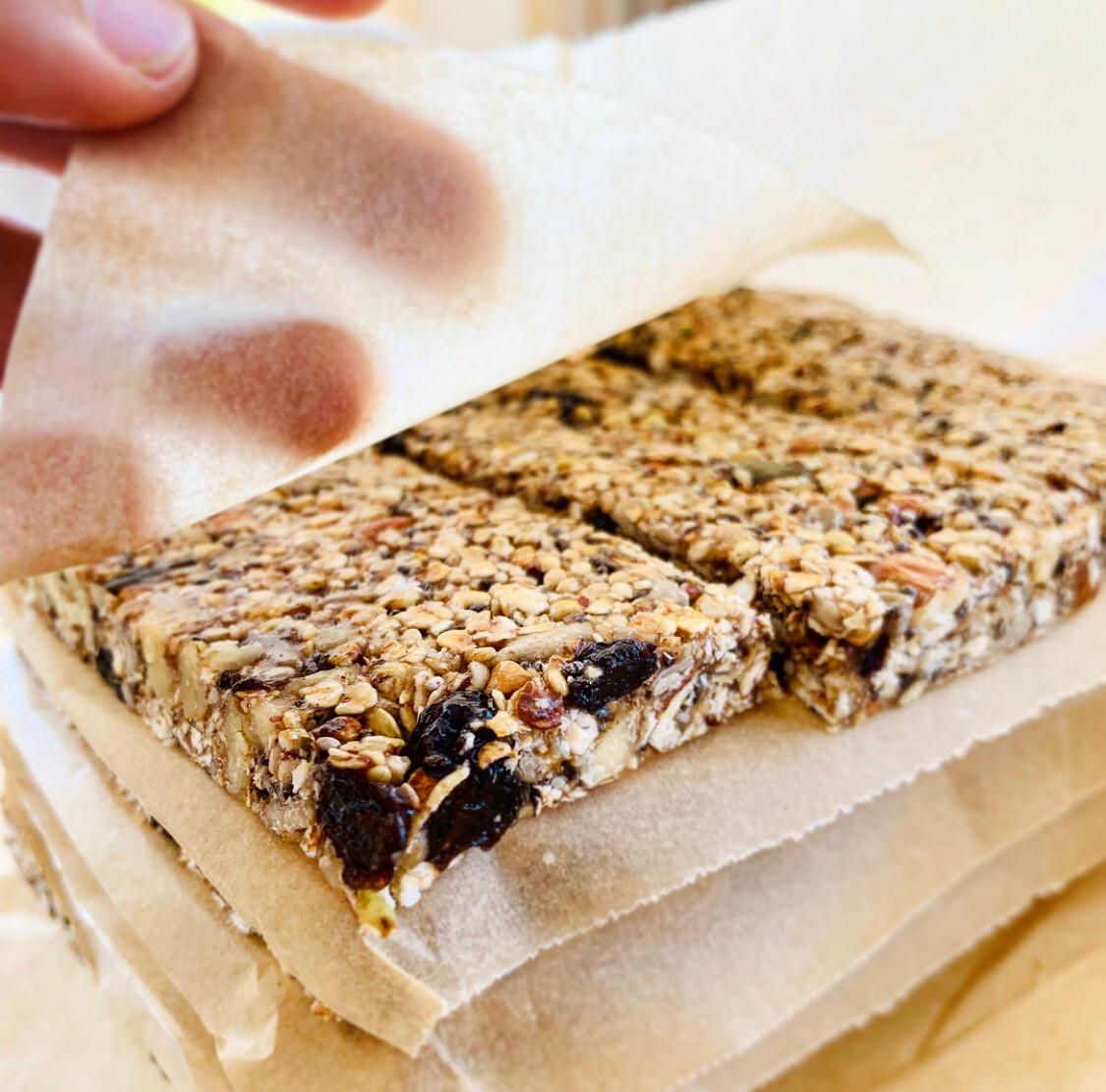 Organic Seeds & Nuts Bars