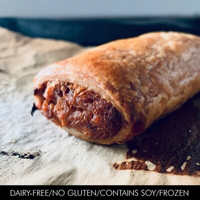 Sweet Potato & Red Lentil GF Sausage Roll