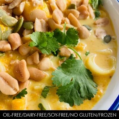 Pumpkin Curry Noodle Soup