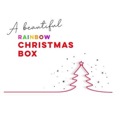 Rainbow Christmas Box for 6