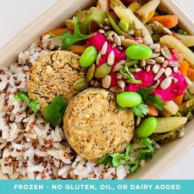 Quinoa & Falafel Veggie Bowl