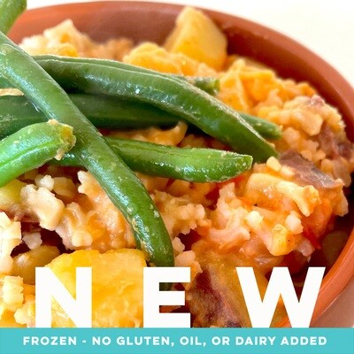 African Peanut Stew w/ Rice