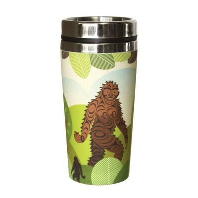 Bamboo Travel Mug - Sasquatch
