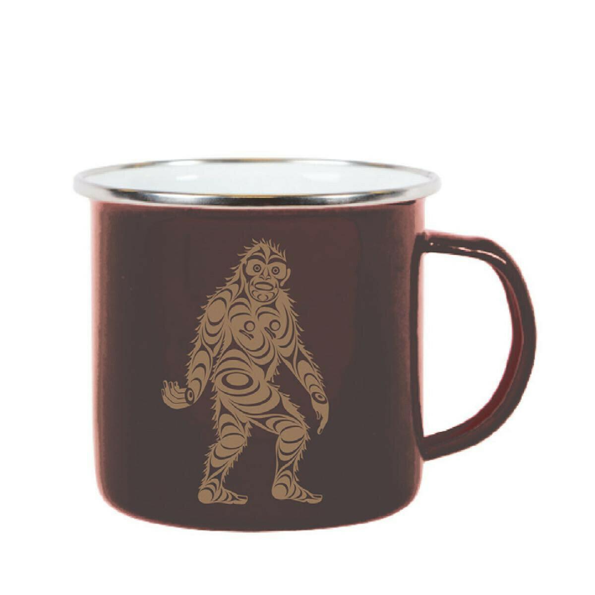 Enamel Mug - Sasquatch