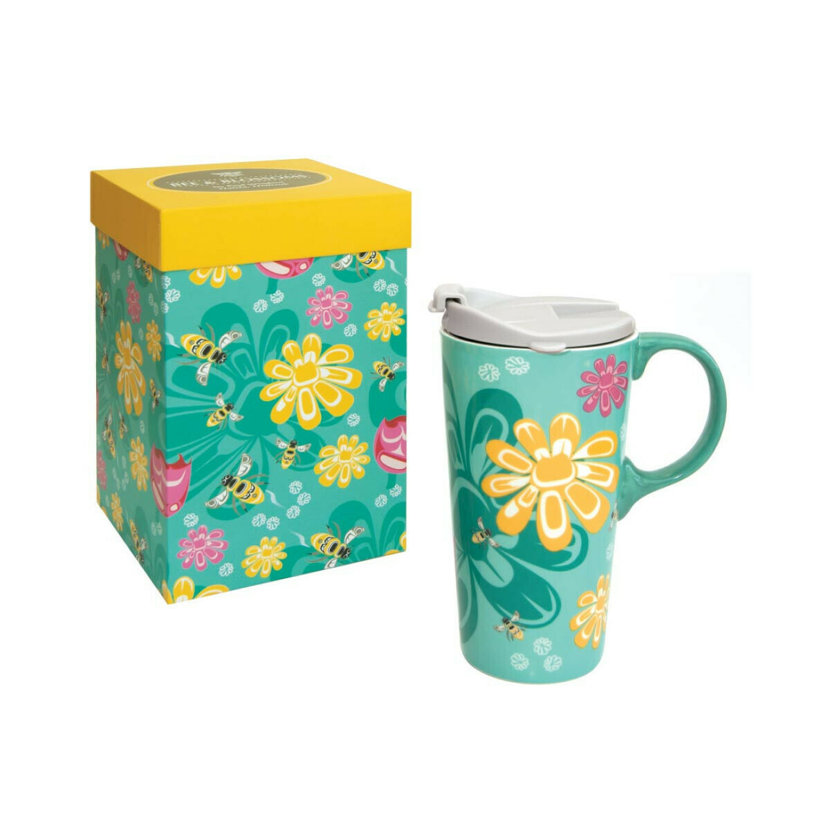 Perfect Mug - Bee and Blossoms