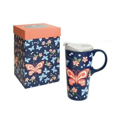 Perfect Mug - Butterfly and Wild Rose
