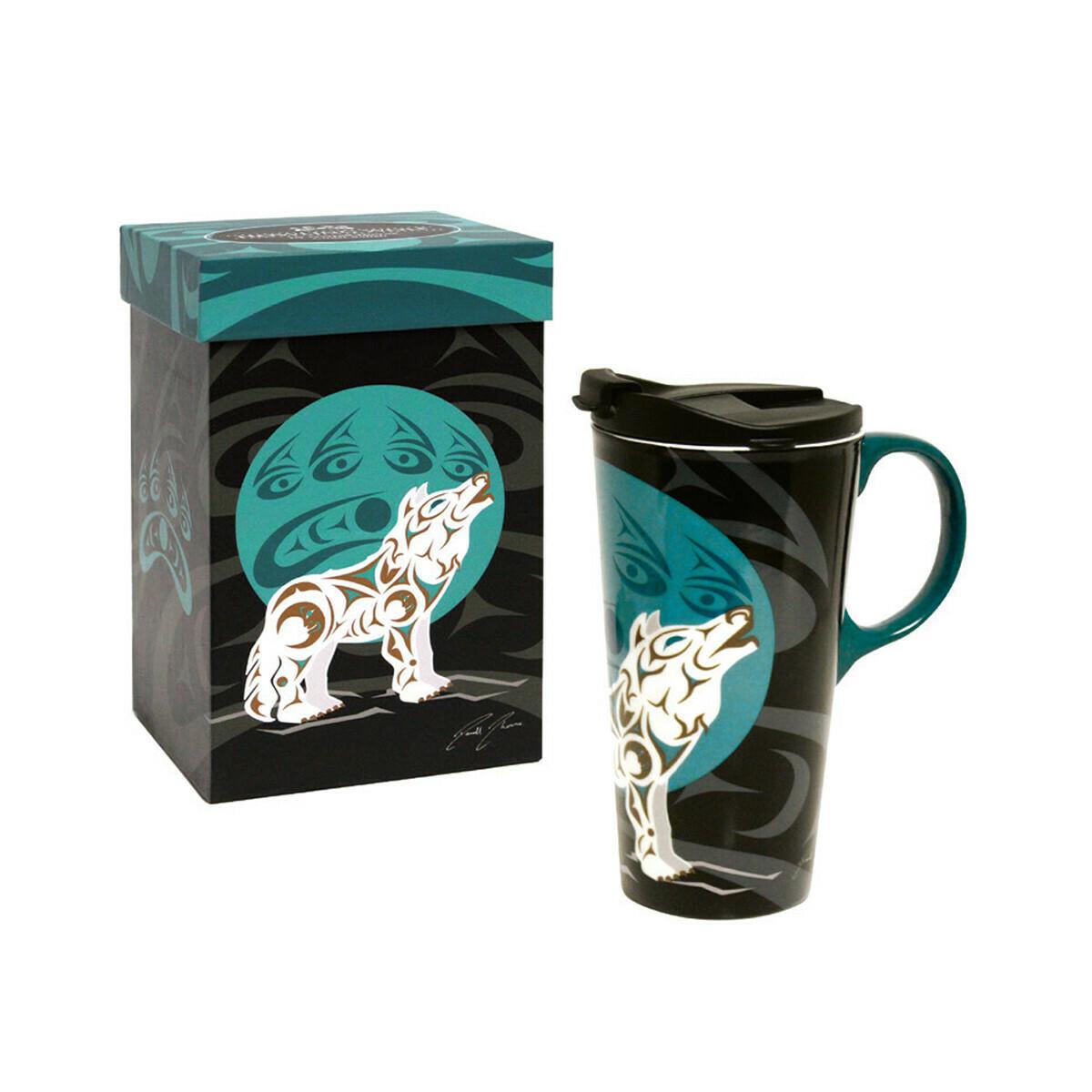 Perfect Mug - Howling Wolf