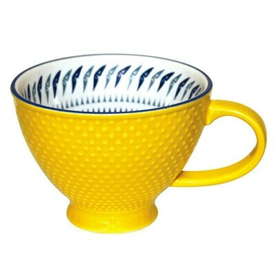 Porcelain Art Mug - Hummingbird