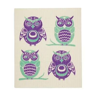 Eco Cloth - Owls