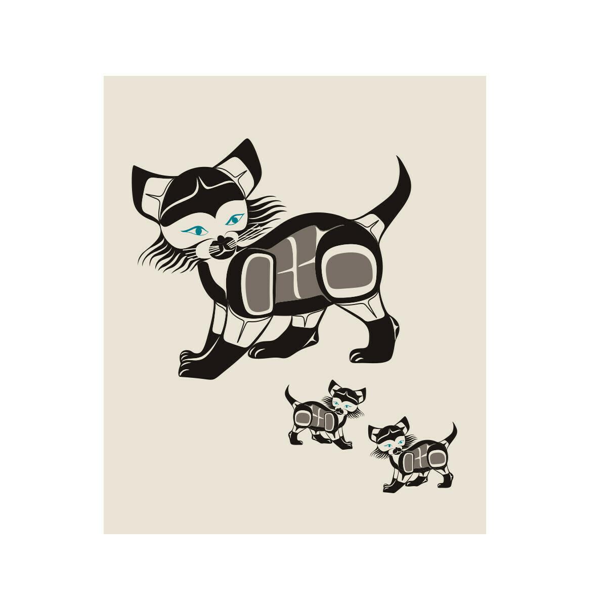 Eco Cloth - Cat
