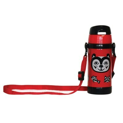 Kids Insulated Water Bottle -  Bear and Friends
