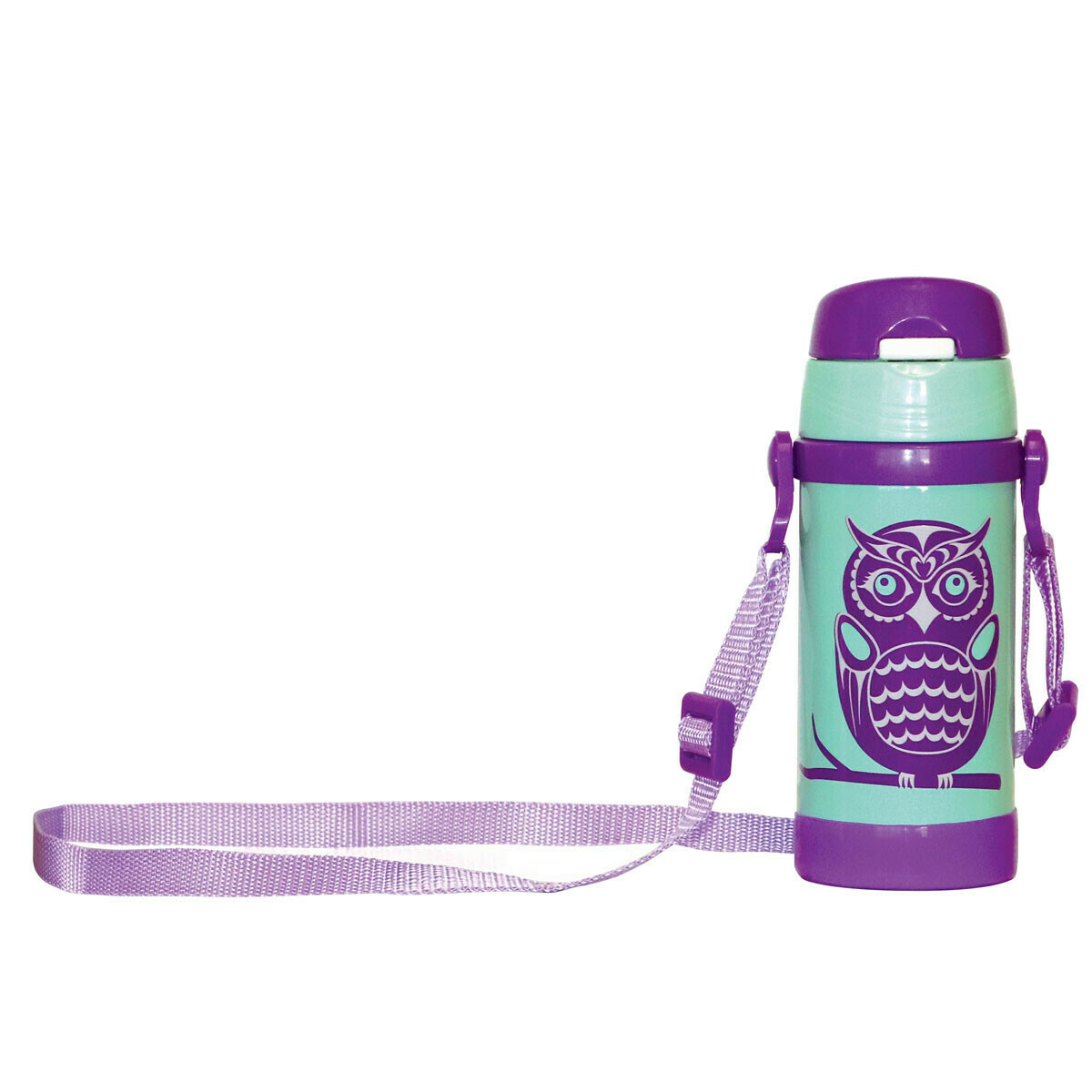 Kids Insulated Water Bottle -  Owls