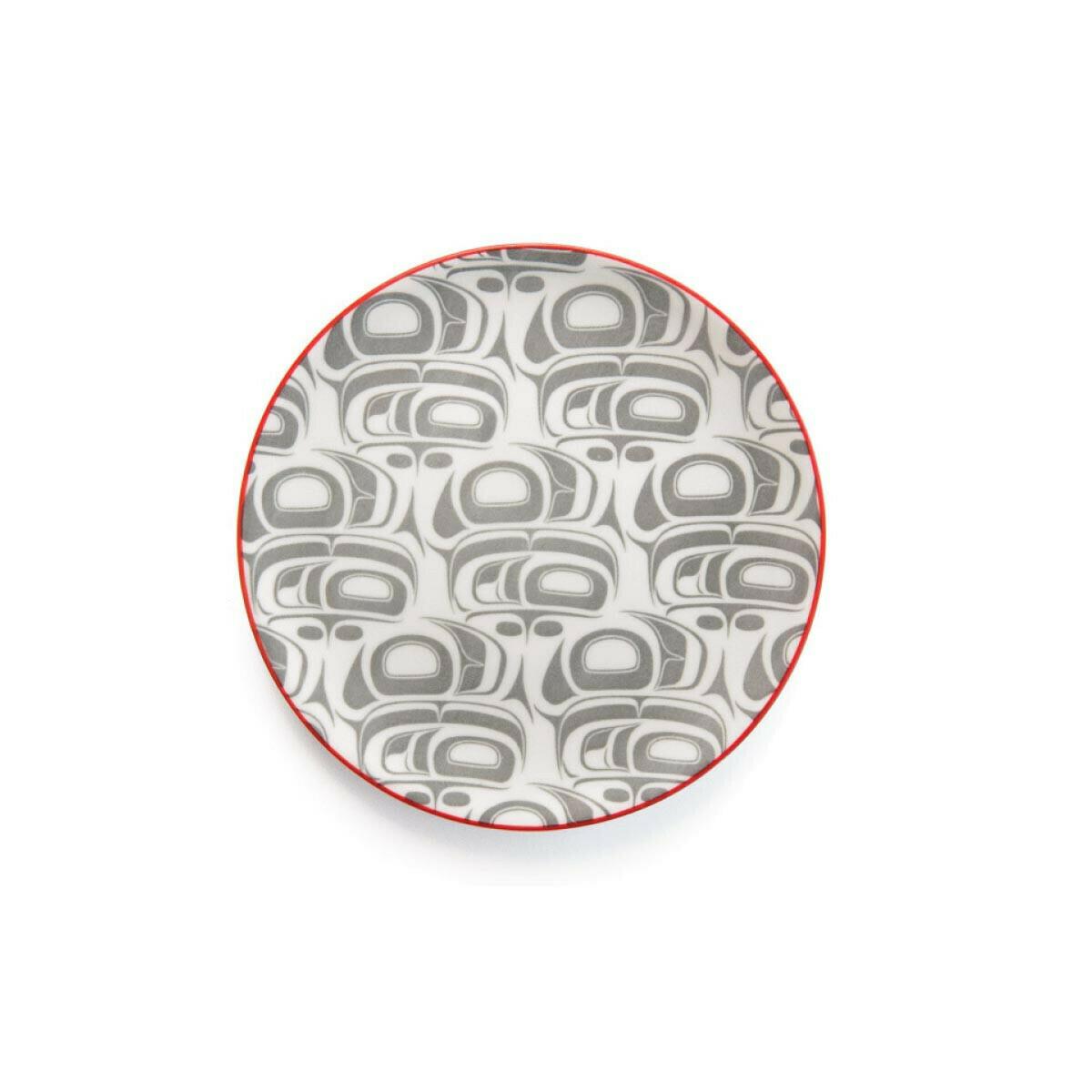 Porcelain Art Plate - Transforming Eagle