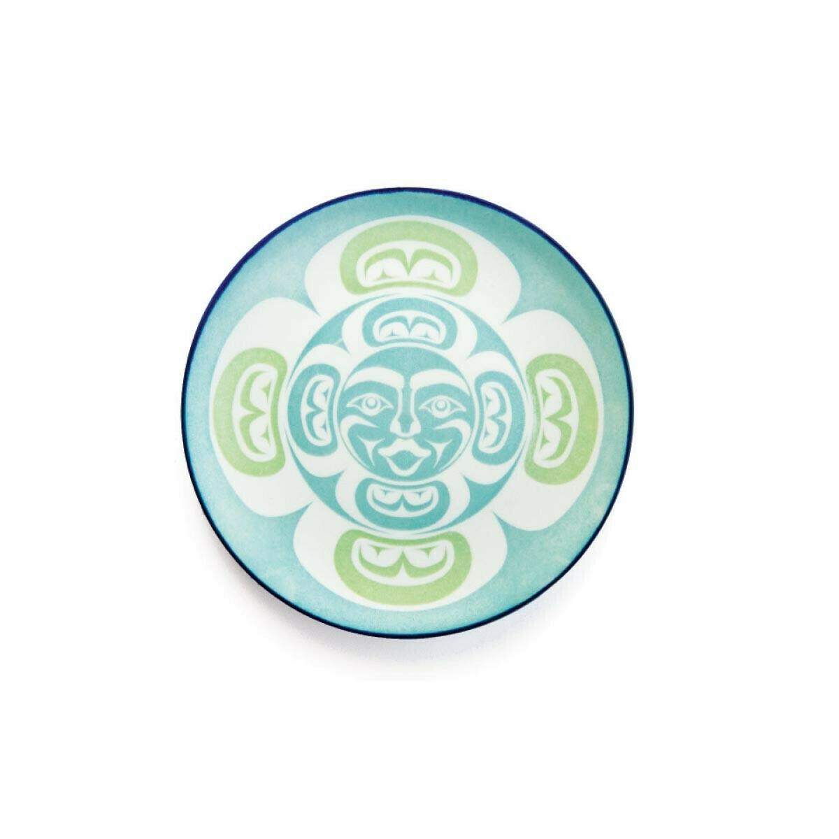 Porcelain Art Plate - Moon