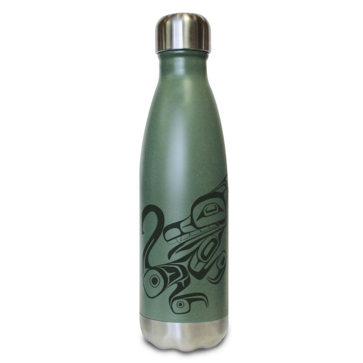Insulated Water Bottle - Wolf