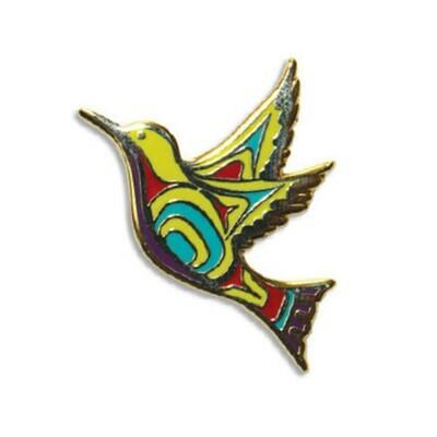 Enamel Pin - Hummingbird