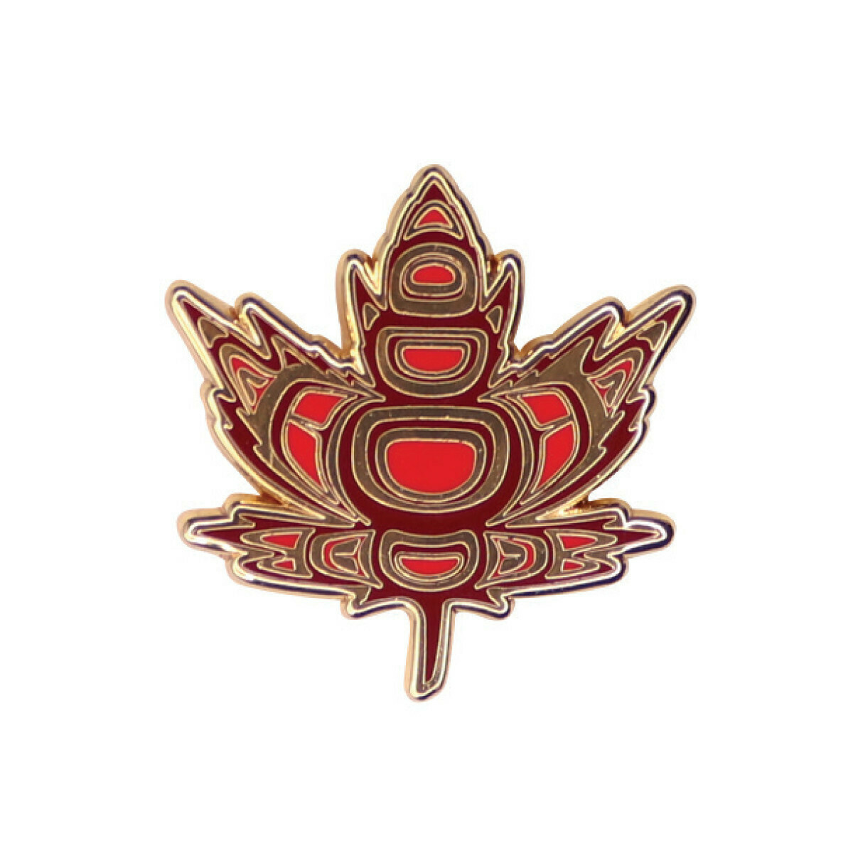 Enamel Pin - Indigenous Maple