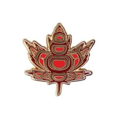 Enamel Pin - Indigenous Maple