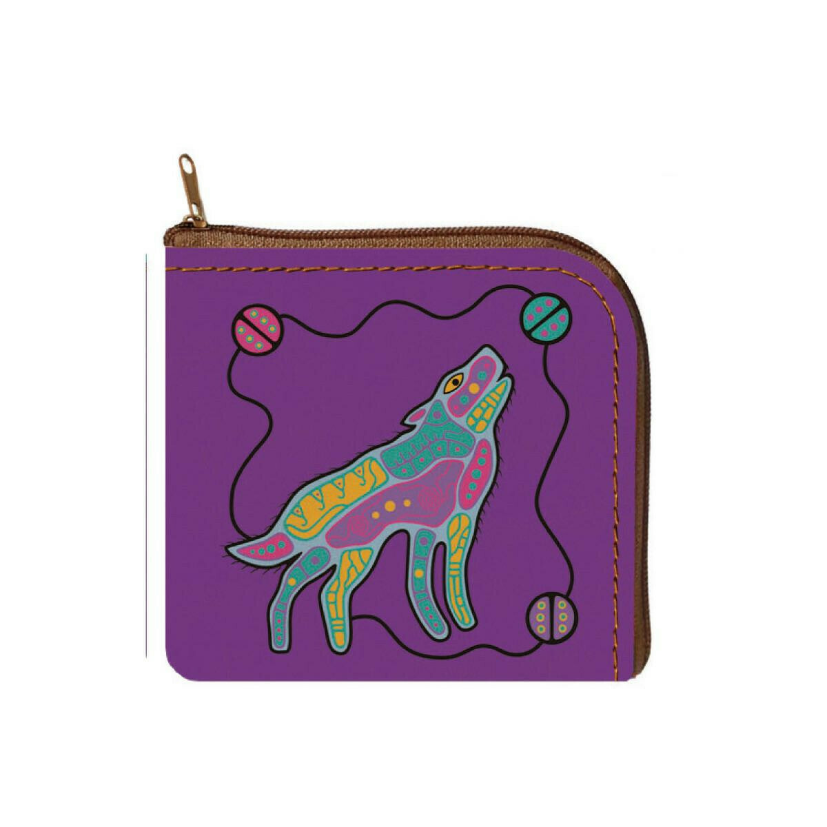 Coin Purse - Howling Wolf