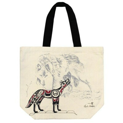Canvas Tote - Wolf
