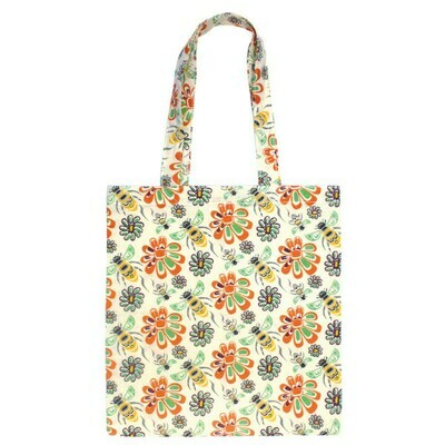 Cotton Eco Tote - Bee and Blossoms